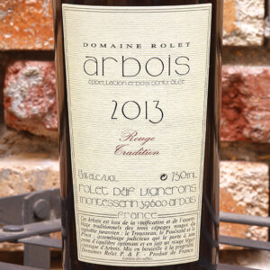 ARBOIS ROUGE TRADITION 2013 DOMAINE ROLET