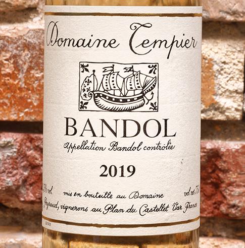 BANDOL BLANC DOMAINE TEMPIER