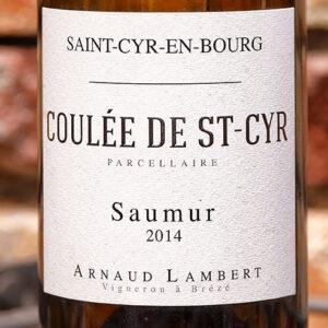 COULEE DE ST CYR SAUMUR DOMAINE ARNAUD LAMBERT