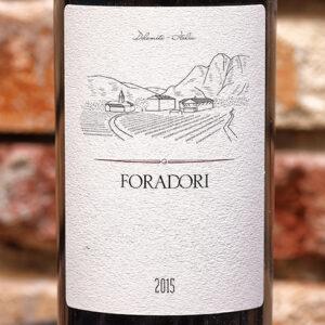 FORADORI 2015 DOLOMITE ITALIE