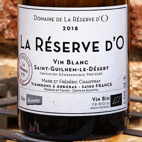LA RESERVE D'O BLANC SAINT-GUILHEM-LE DESERT