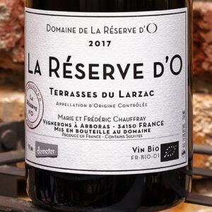 LA RESERVE D'O TERRASSE DU LARZAC DOMAINE DE LA RESERVE D'O