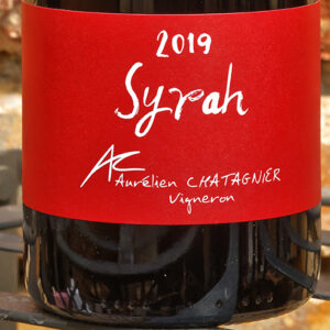 SYRAH 2019 AURELIEN CHATAGNIER
